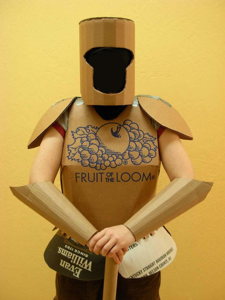 Как сделать костюм для рыцаря