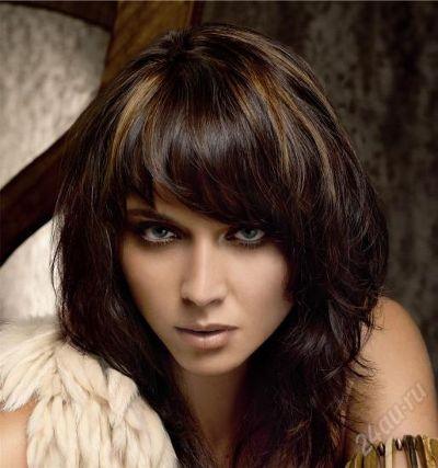 красивые темные цвета волос