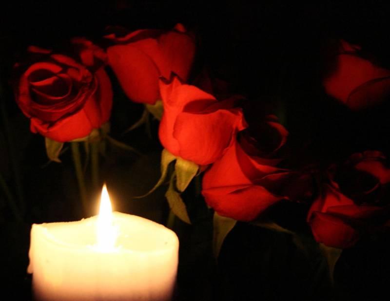 Картинки со свечами и цветами 5
