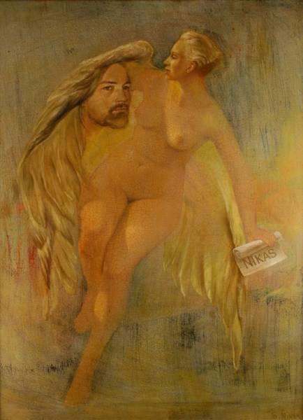 nikas-safronov-golaya-zhenshina