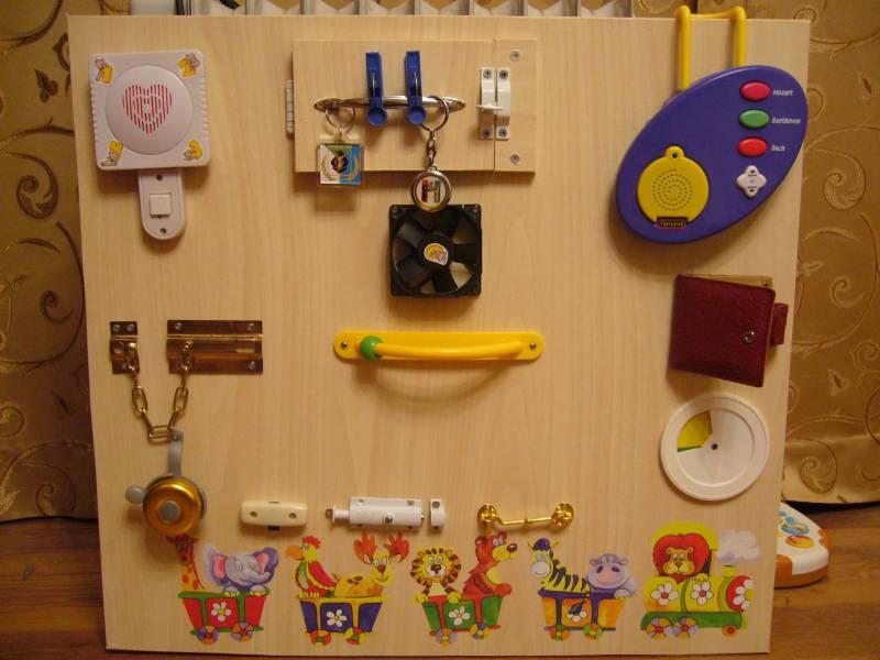 Развивающие игрушки от 1 года своими руками