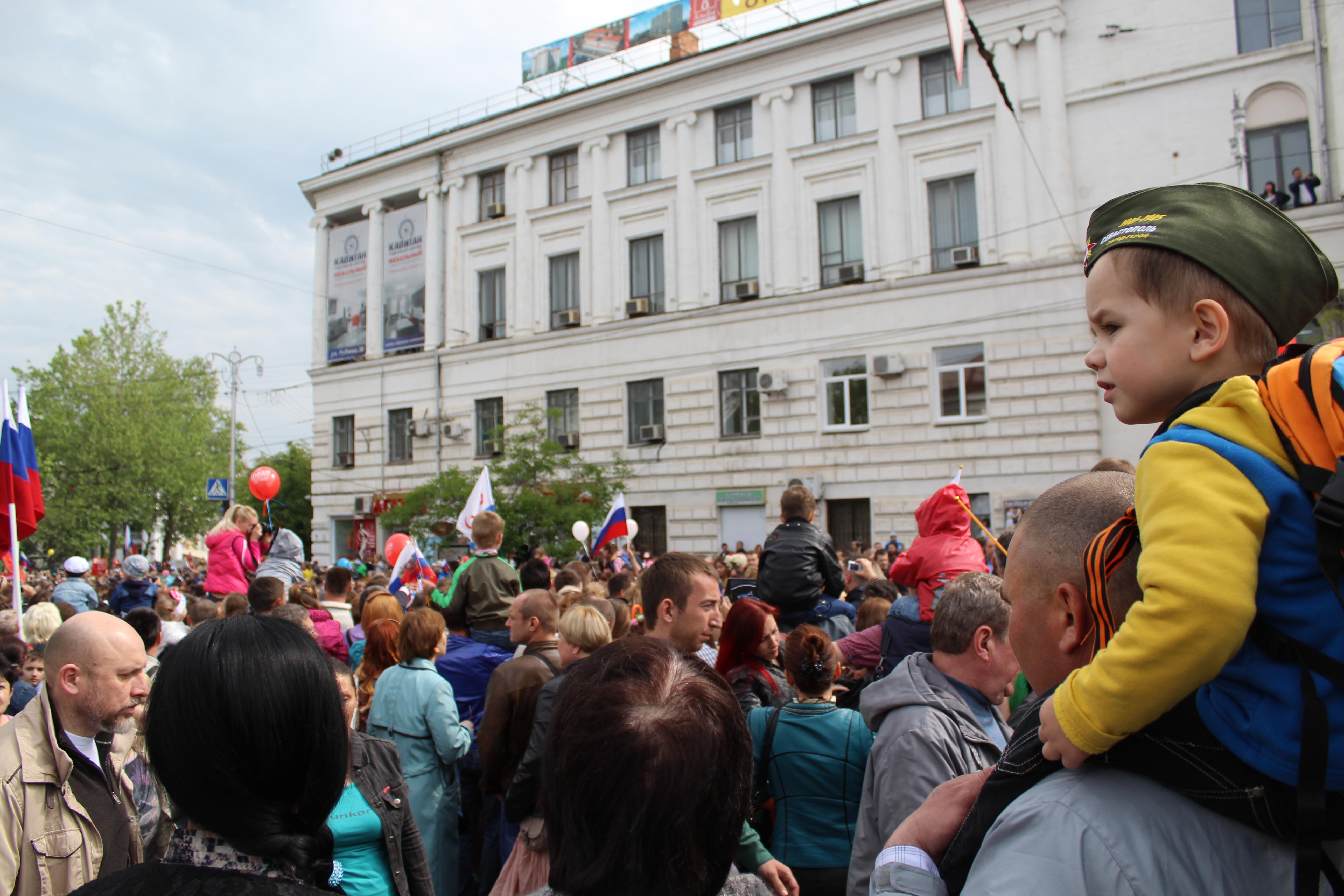Крым встречает первых туристов