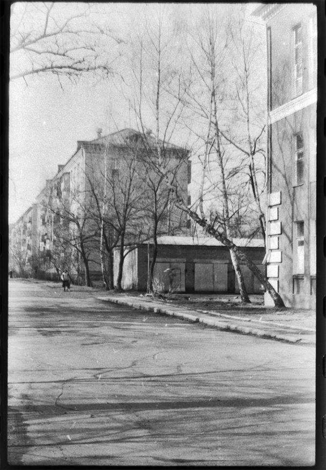 Исполком и ул. Крылова 1987г.