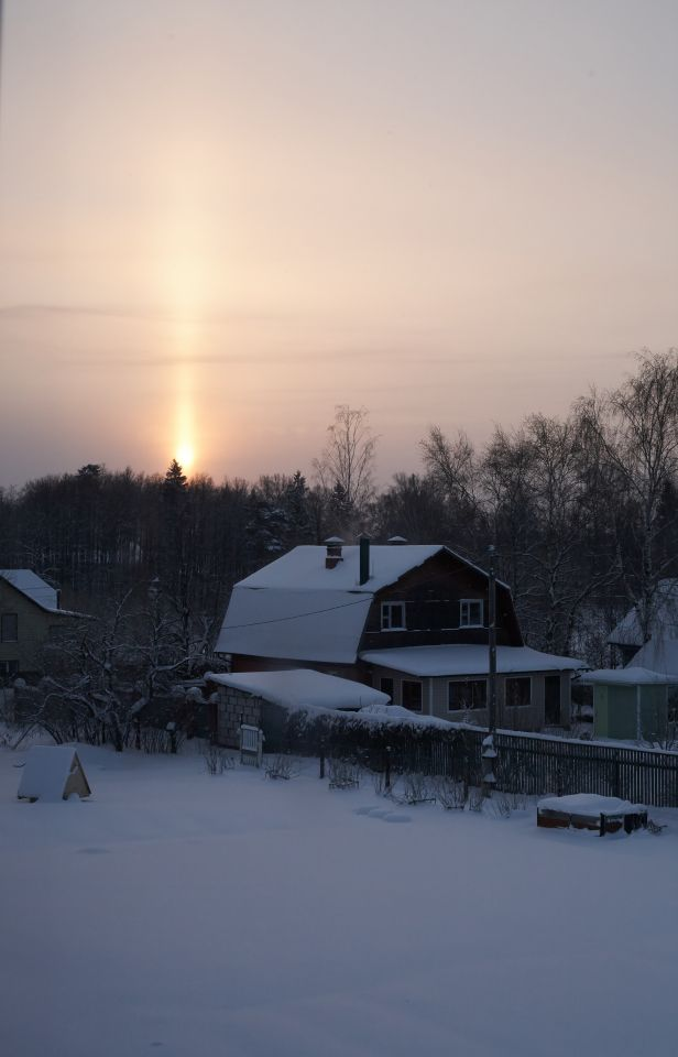 Солнце-свечка