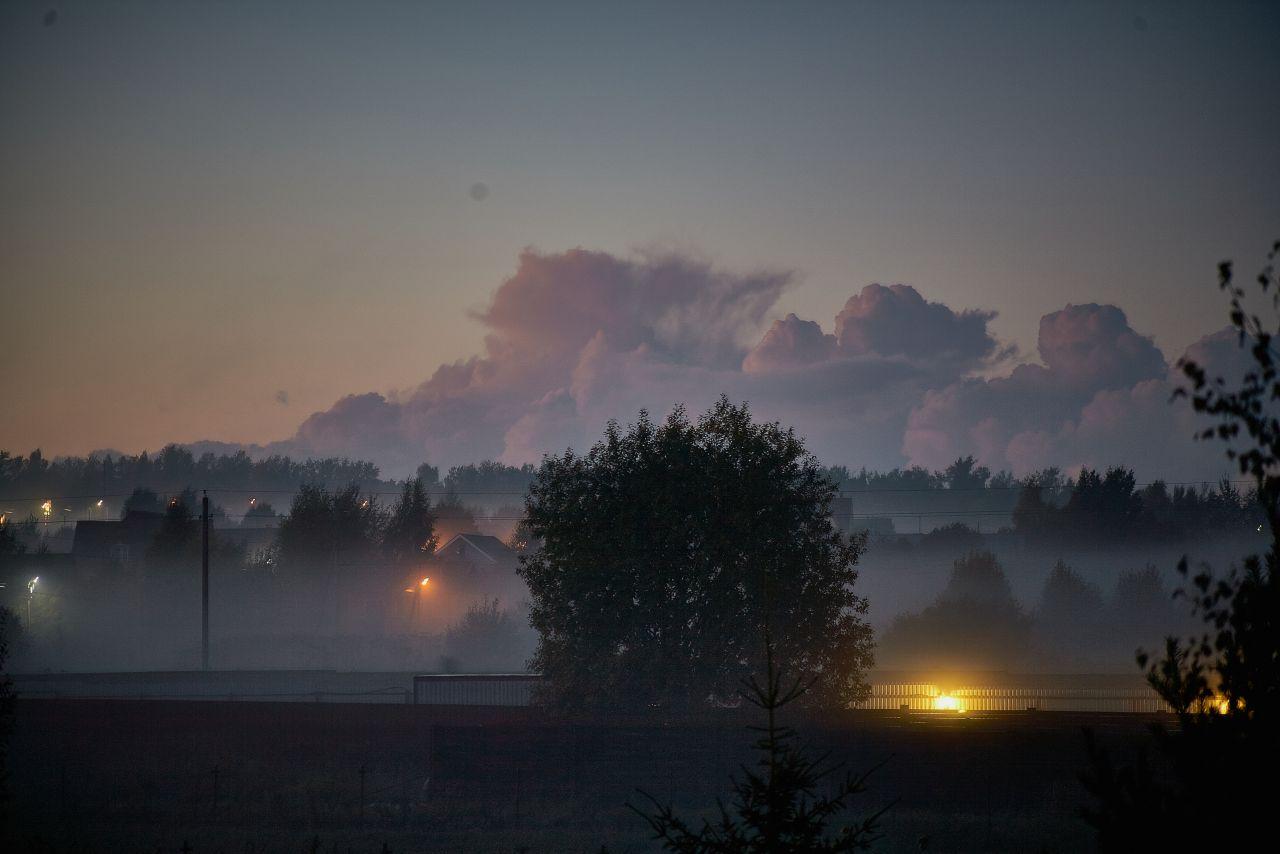 Туманный вечер