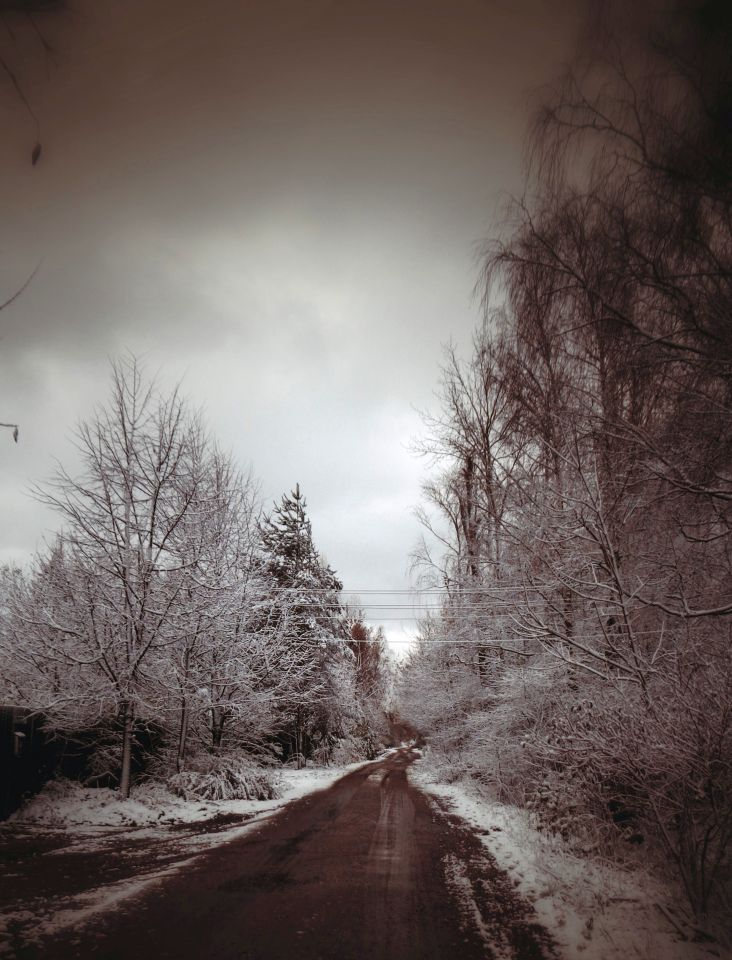 Привет зима