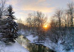 Зимним вечером...