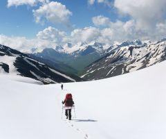 Киргизия, июль, зима