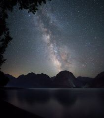 Млечный путь над Искандеркулем