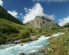 Река Иссык-Ата