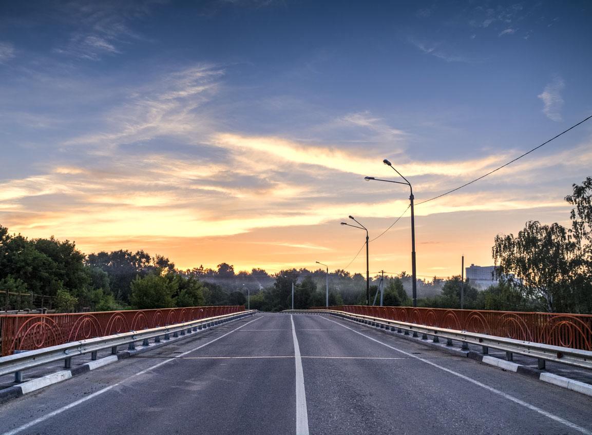 Утреннее шоссе