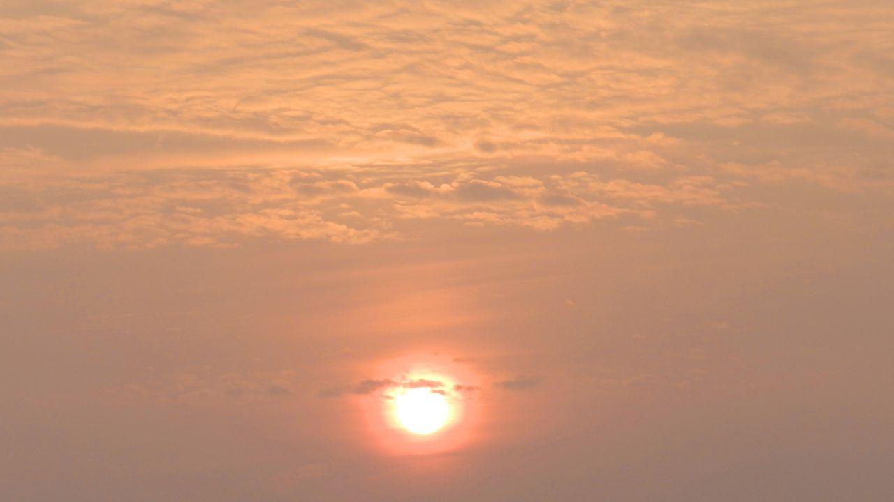 Восход...