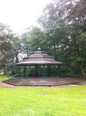 Сцена в парке