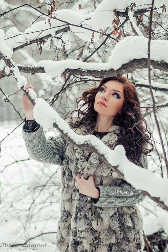 зимние фотосессии