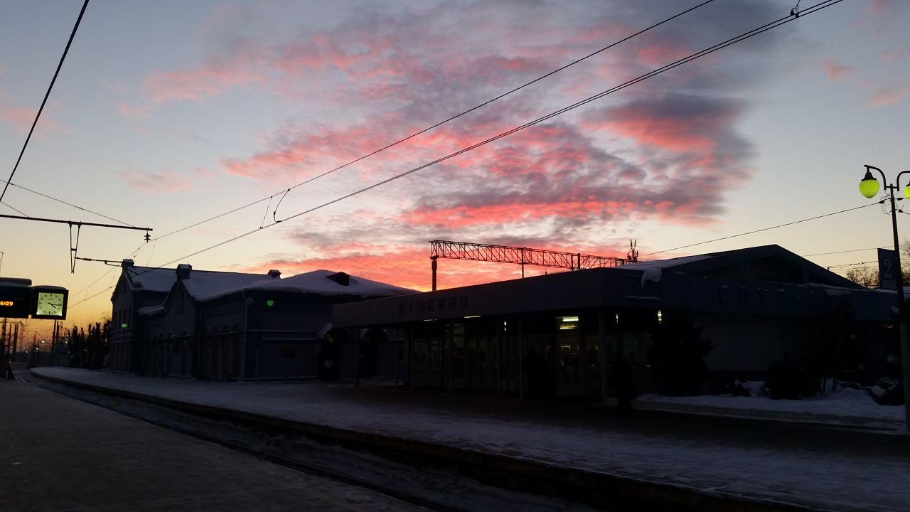 Закат сегодня