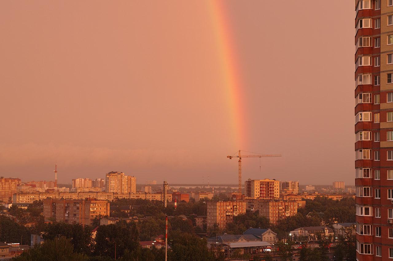 Радуга в Пушкино