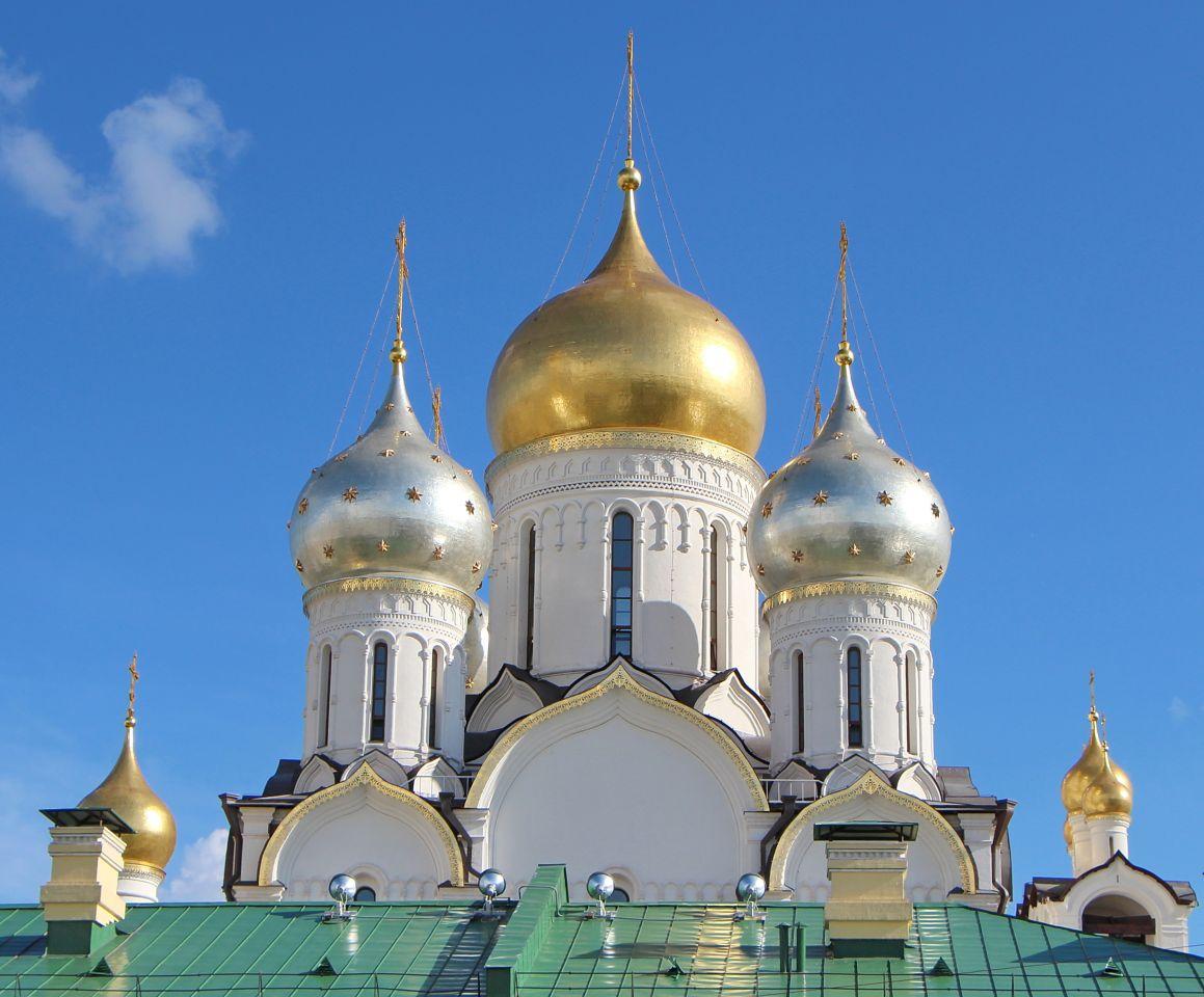 Открытки золотые купола