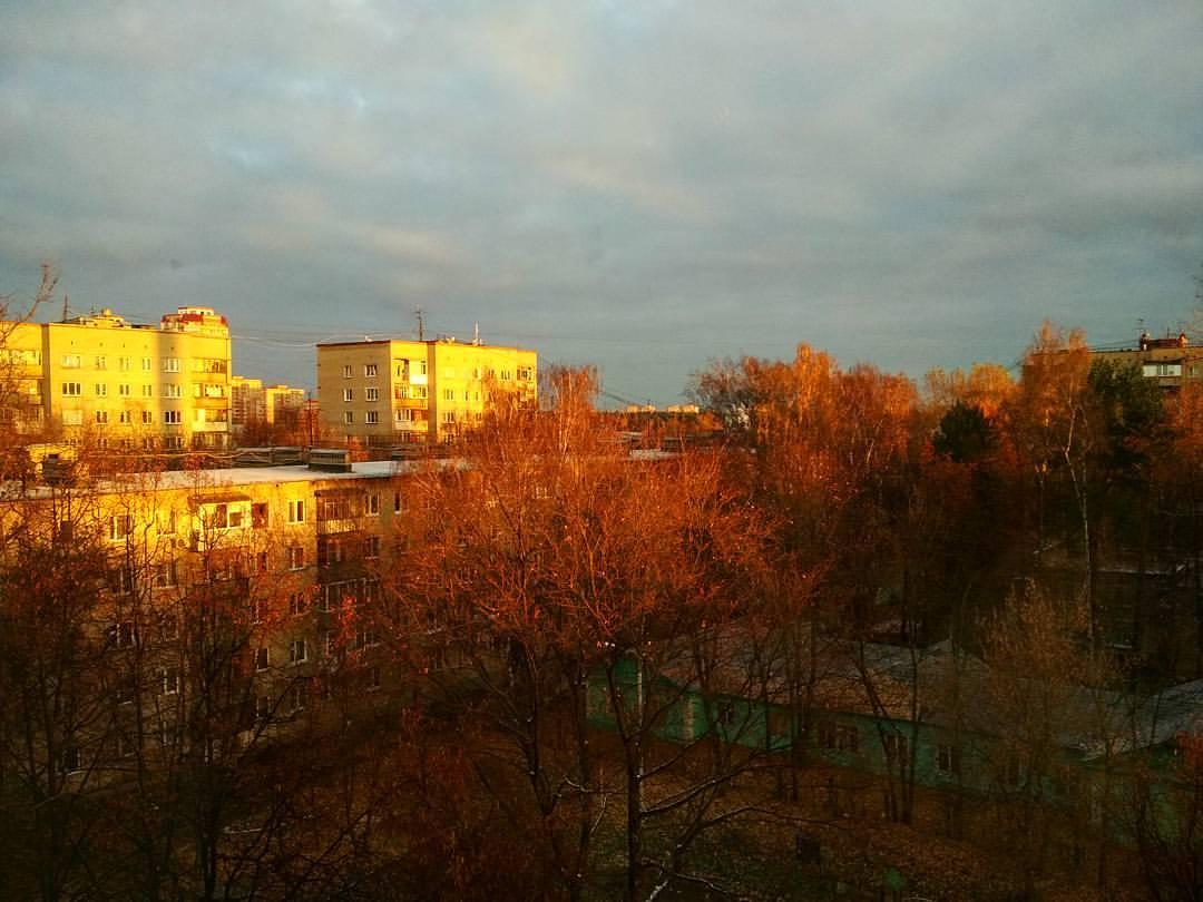 Утро красит нежным светом