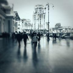 Дождливая зима в Москве