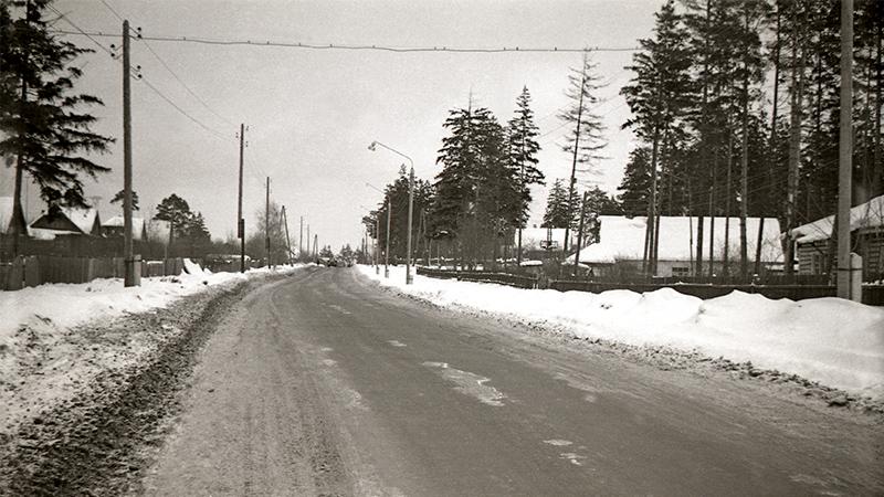 Мои тропы. 1. (Ул. Дзержинского, ок. 1966 года)