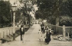 Пушкино, вид от станции