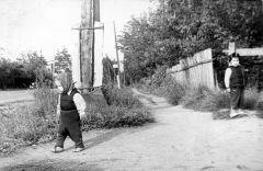 1965, август. Середина ул. Дзержинского. Вид в сторону Красноармейска.