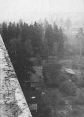 1971. 10 октября. Вид с дома №9 в сторону Старой Ярославки.