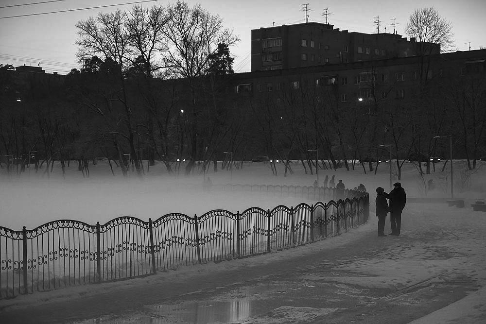 Нежность на берегу тумана