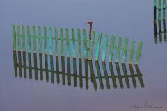 Одинокий забор