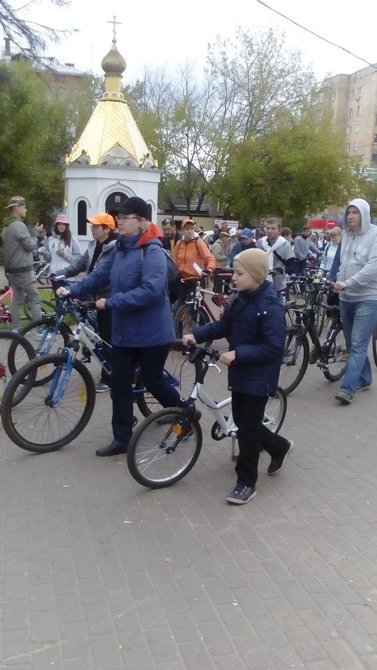 Ударим велопробегом по отсутствию велодорожек в Пушкино!