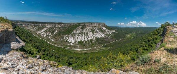 Крым. Вид из Чуфут-Кале