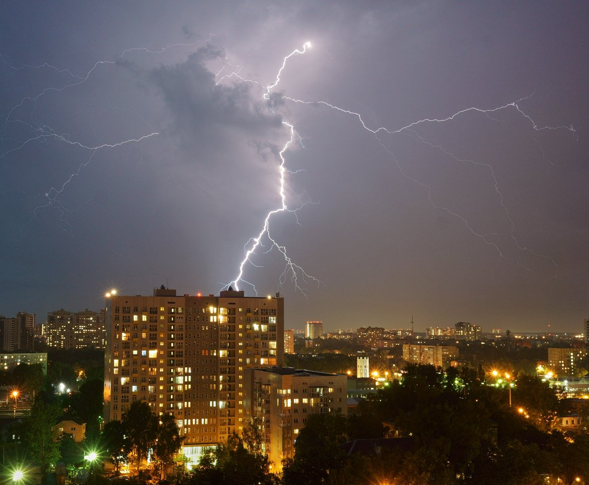 Гроза в Пушкино