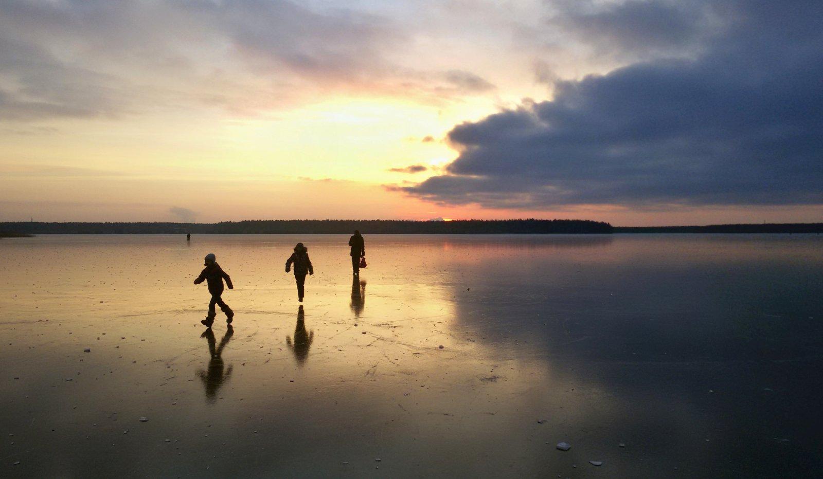 Прогулки по льду