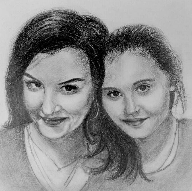 Sombra с дочкой