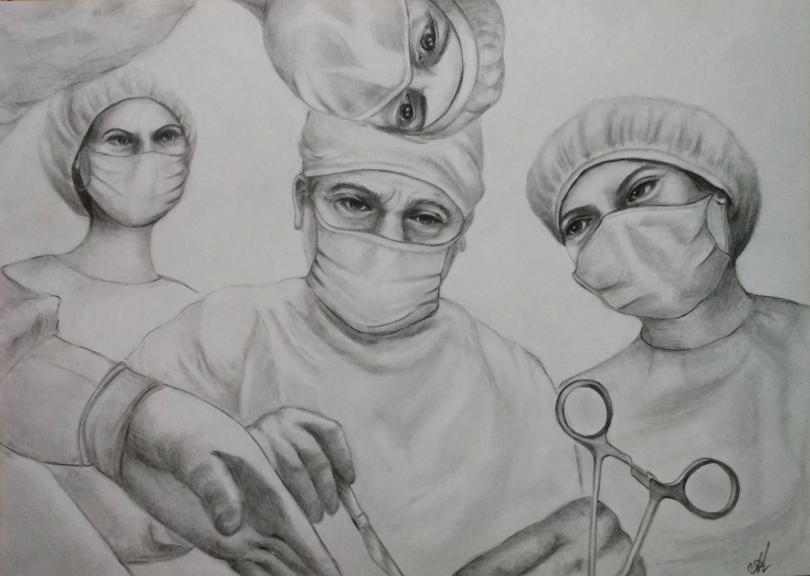 Студенты медики картинки нарисованные