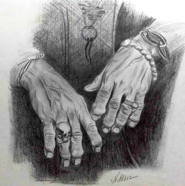 Руки Кита Ричардса