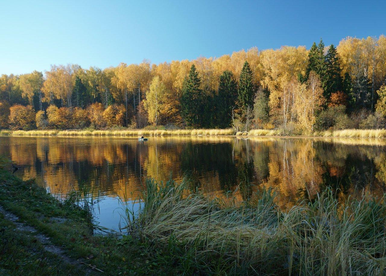 Осень на Учинском