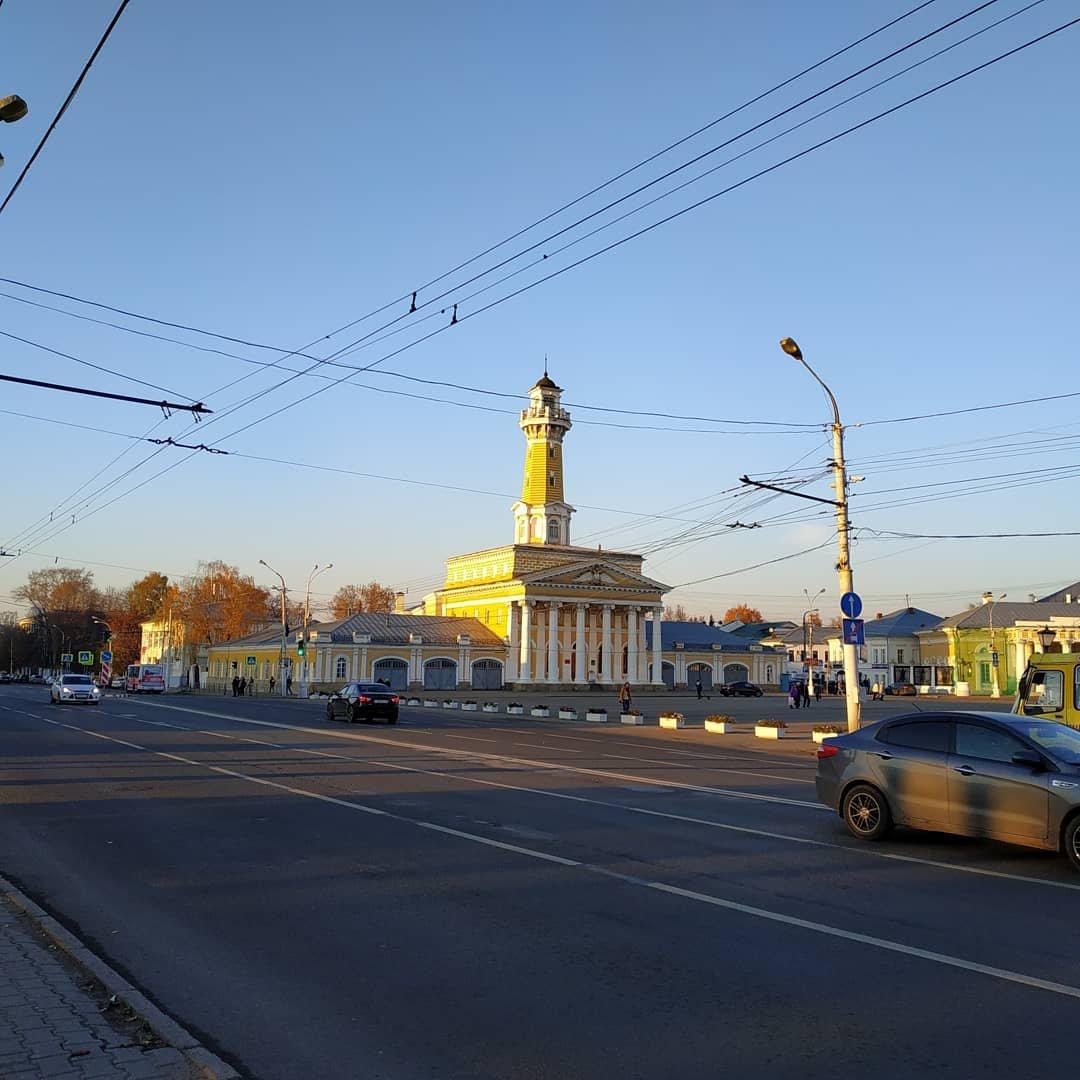 Каланча в Костроме