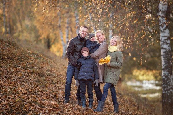 Чудесная семейная прогулка