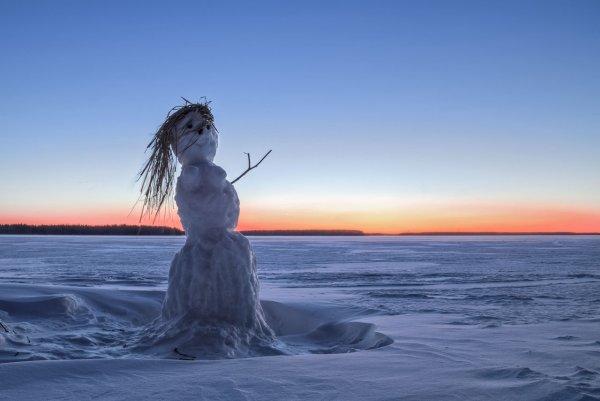 Венера в снегах