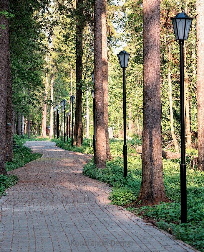 Прогулка в Абрамцево