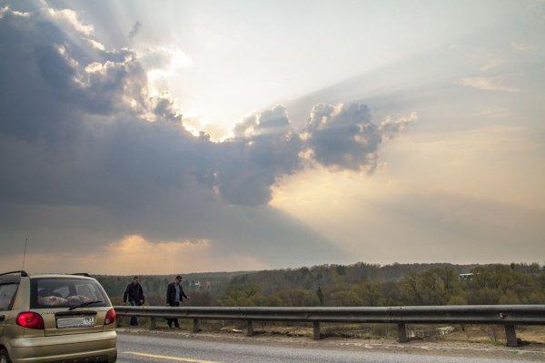 Апрельское небо Владимирской губернии