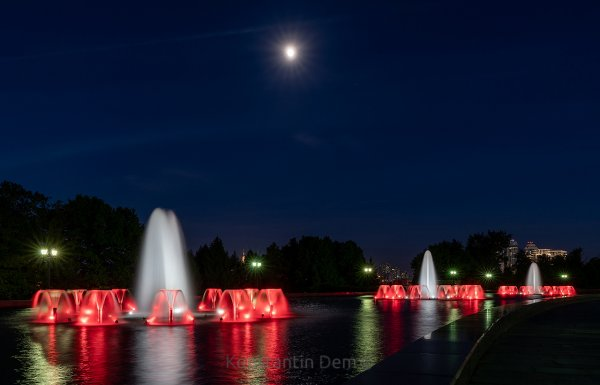 Ночные красоты Поклонки (II)