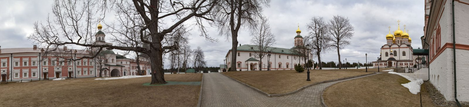 Деревья Иверского монастыря