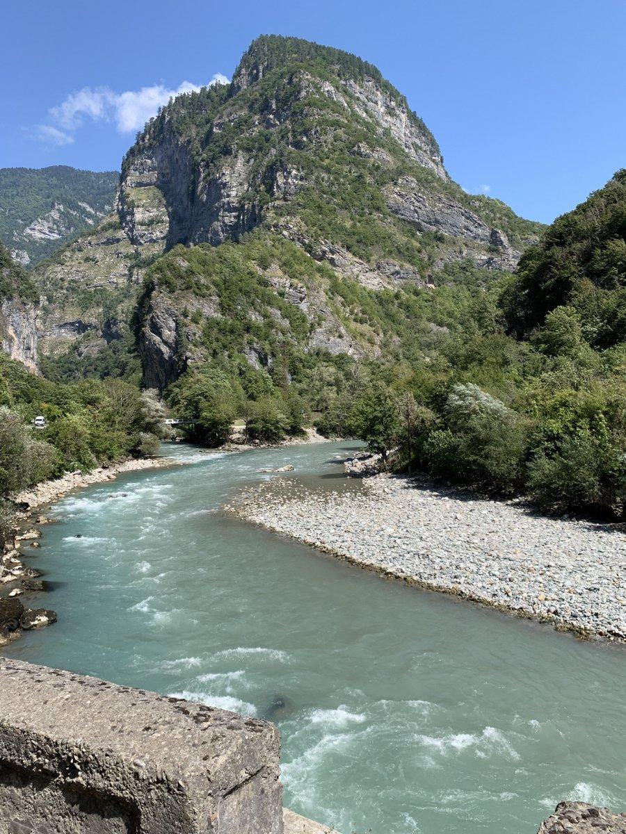 река Бзыбь Абхазия