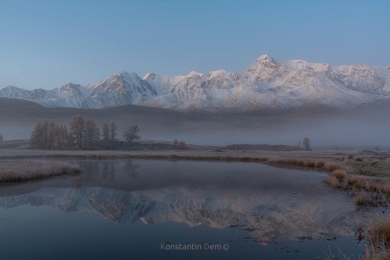 Алтай. Озеро Джангысколь.