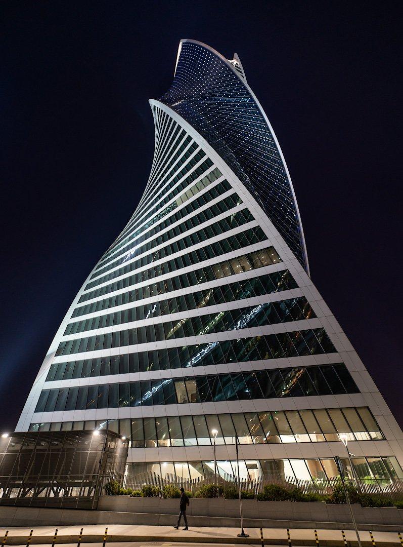 Башня Транснефть. Москва Сити