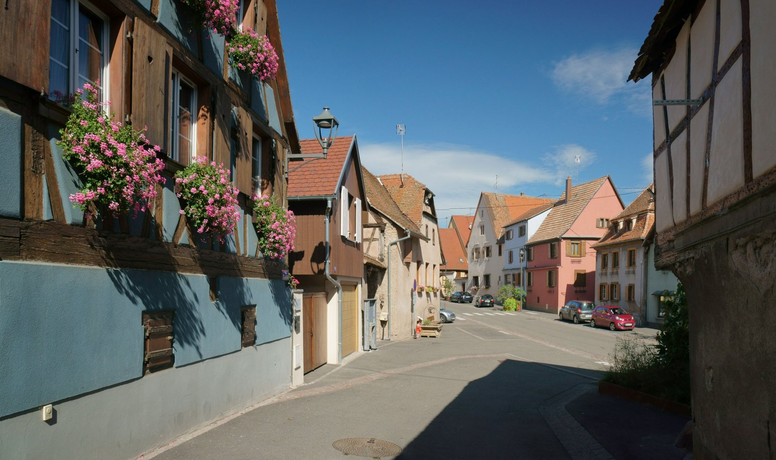 Эльзасская деревня