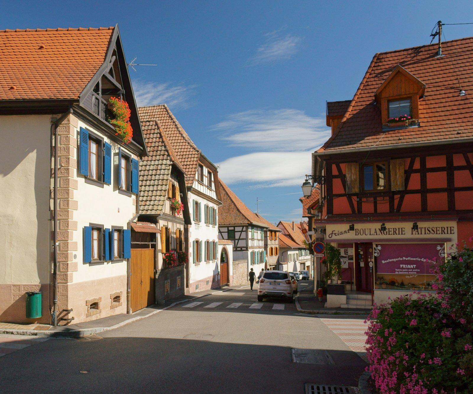 В старой деревне