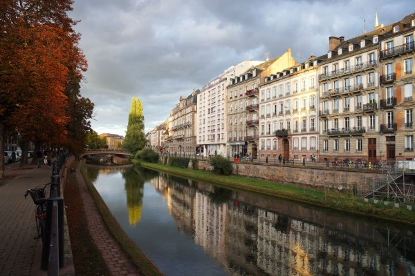 Вечерний Страсбург
